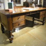 Decorative Cherry Wood Office Desk