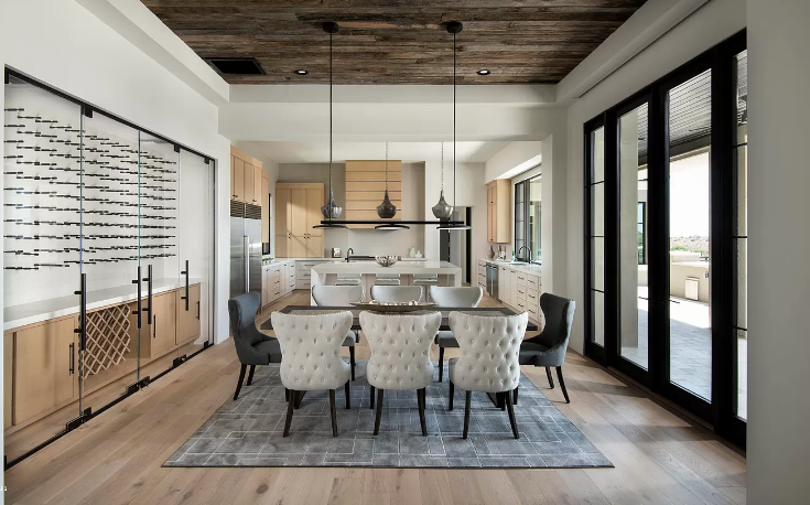 iSearchDecor Upper Canyon Silverleaf Kitchen Dining Photo