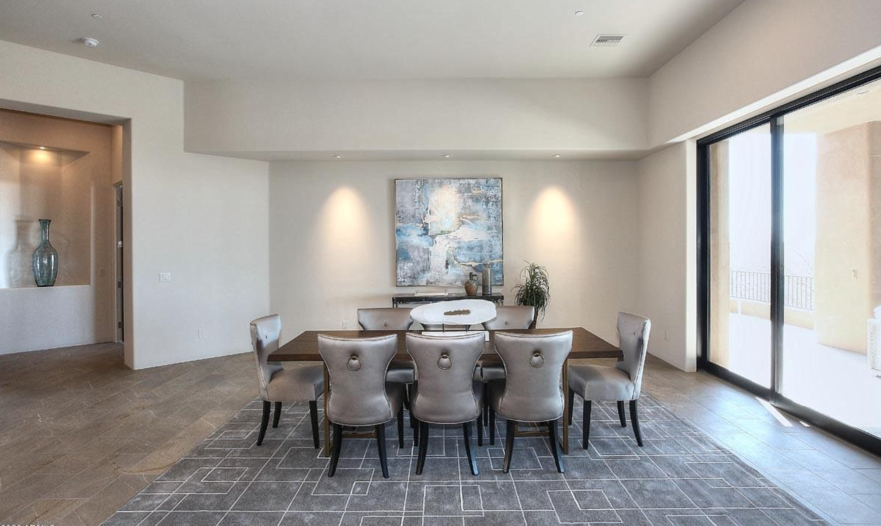 iSearch Decor Staging Photo of Desert Mountain Formal Dining Area