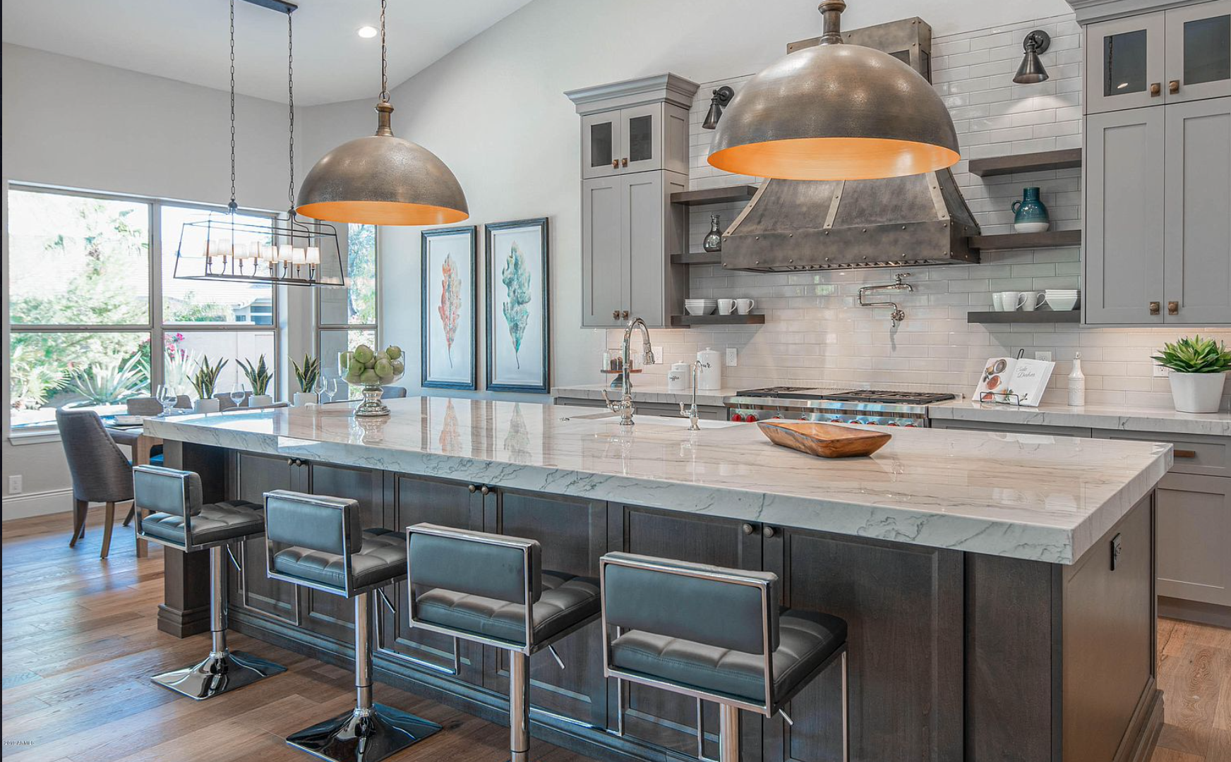 iSearchDecor Staging of Montana Ranch Kitchen Photo