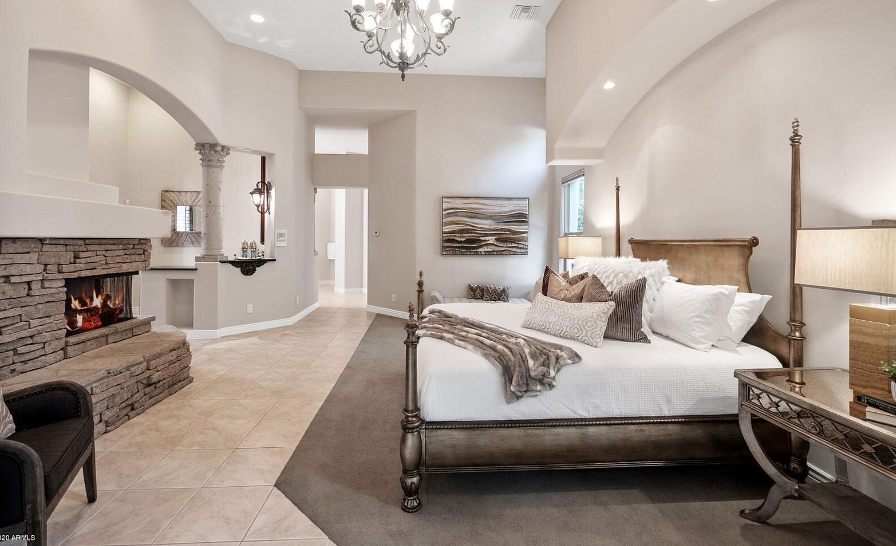 iSearchDecor Staging Photo of Biltmore Master Bedroom